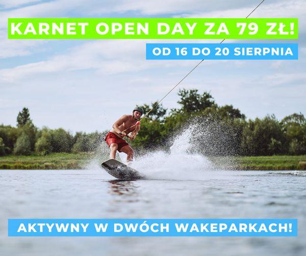 Karnet OpenDay tylko 79 pln